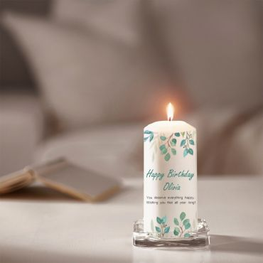 Personalized Candles (Candle Printing)