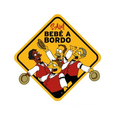 Baby On Board Car Sign (Car Accessories)
