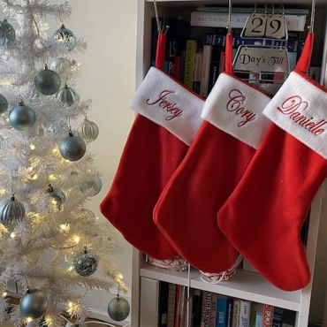 Personalized Christmas Stockings (Smooth and Silky Furs)