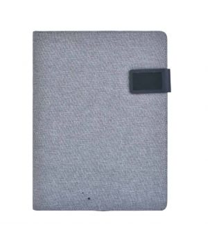 VOLOS A4 Folder with Wireless Power bank (4000 mAh)