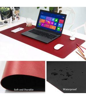 Large Desk Pad - 80cm x 40cm (Black&Red)