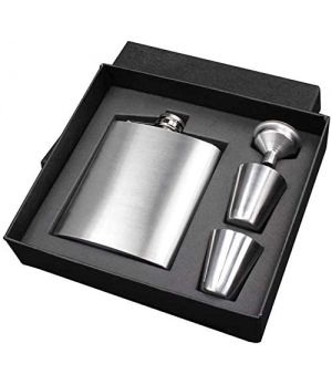 Portable Stainless Steel Flask - 7 oz