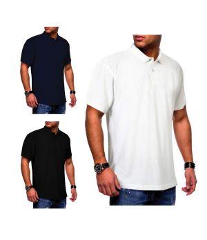 SANTHOME SHIELD Polo Shirt (Anti-viral)