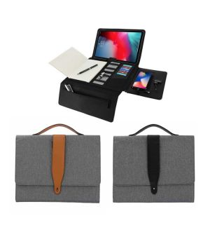 VIERSON Tech Workstation with Wireless Power bank  (10000mAh)
