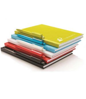 XD Notebook With Pen (A5 Hard Cover)